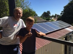 Stay Social accommodation Bendigo is powered by solar energy